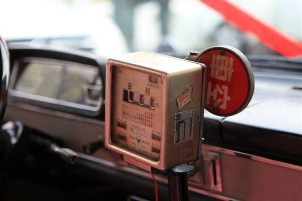 Taxi meter, Taipei, 1980