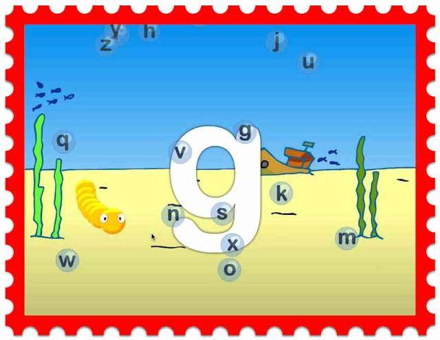 Infantil Mercedarias: burbujas de letras