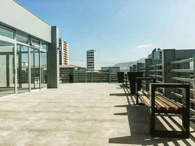 Terraza Edificio Oficinas En Iquique Yañez Y Muñoz