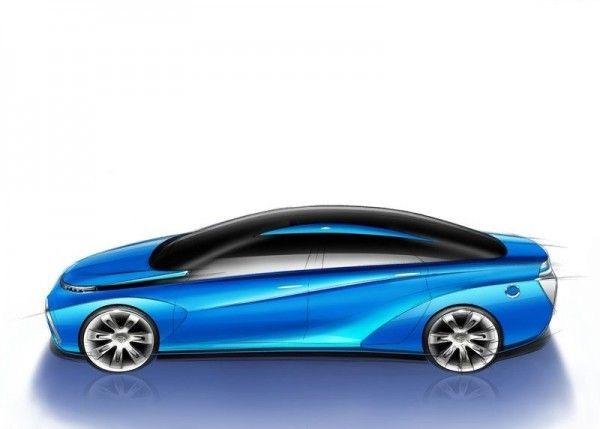 2013 Toyota FCV Stylish Cars 600x429 2013 Toyota FCV Reviews