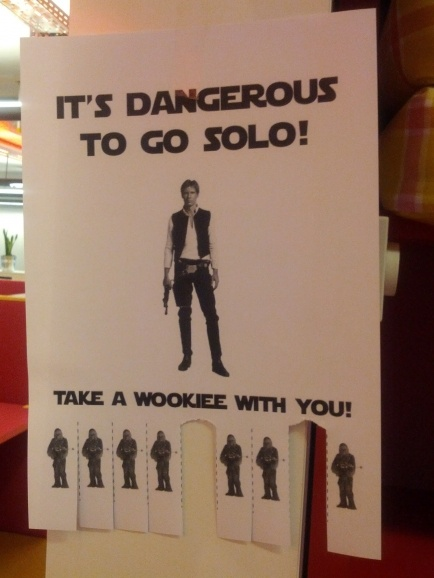 Take a Wookiee with you!