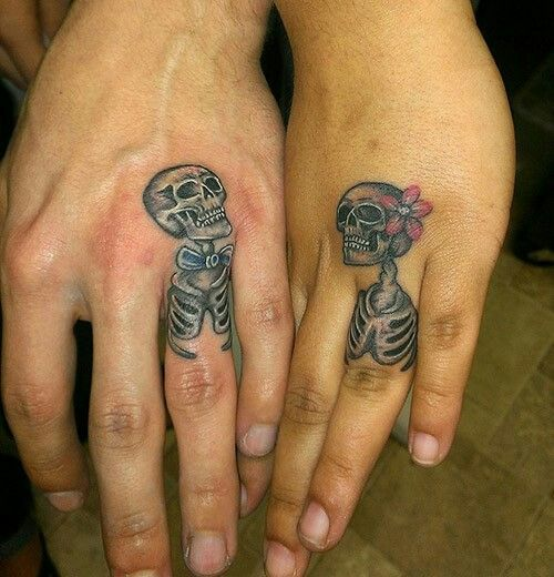 His and hers. | My tats | Pinterest