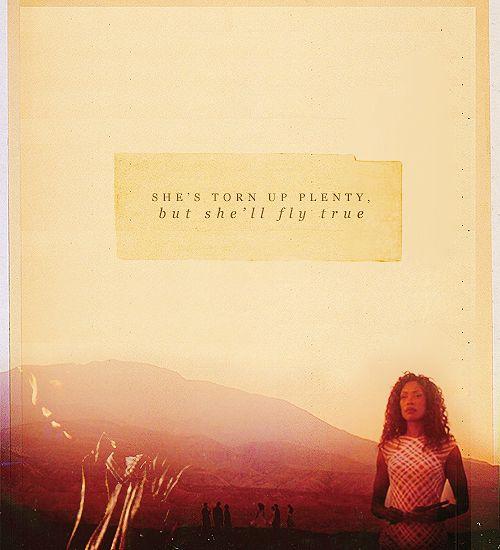"""She's torn up plenty, but she'll fly true."""