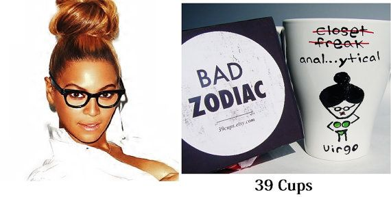 Funny Mug / Virgo Zodiac Mug / Rude / Cuppa by 39Cups on Etsy, $14.95