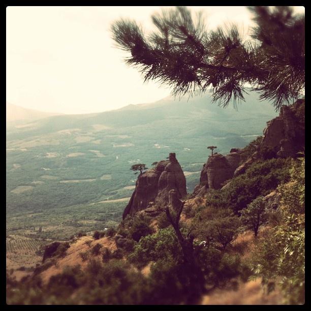 Hiking the Demurrage in Alushta.