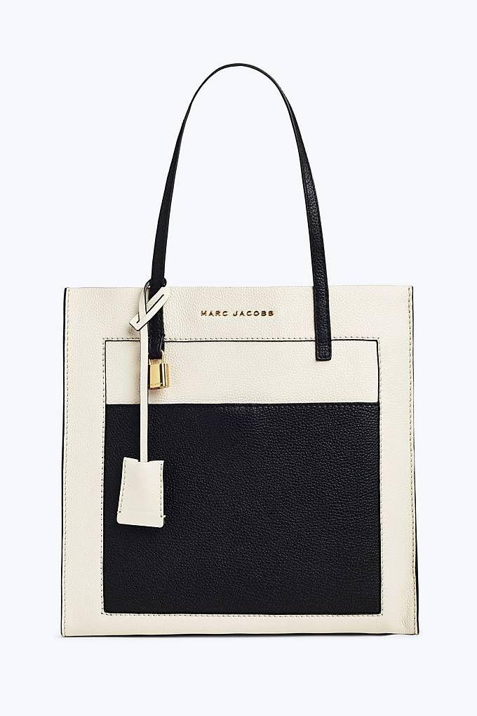 The Colorblock Grind Shopper Tote Bag   Marc Jacobs   Cloud White Multi a1e694e7daa0