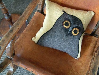 Ruru / Morepork Owl cushion