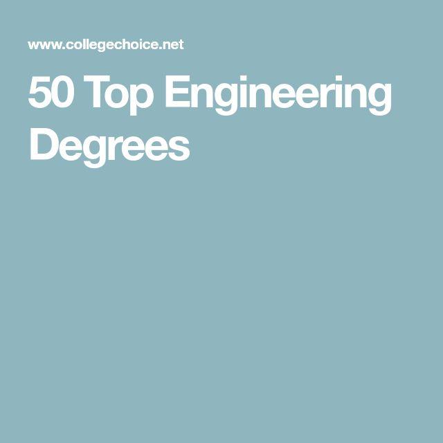 50 Top Engineering Degrees