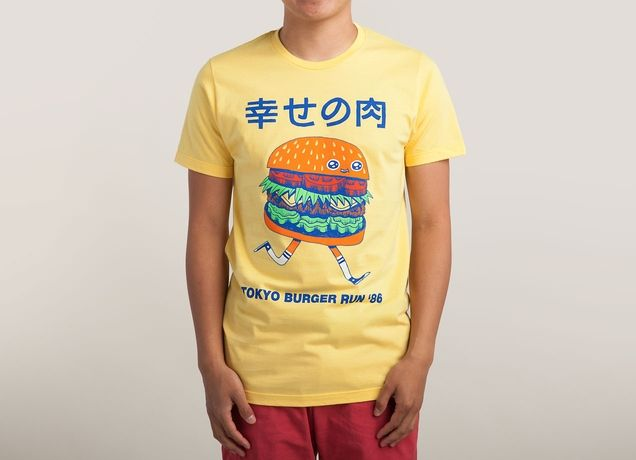 """Burgerman"" - Threadless.com - Best t-shirts in the world - L"