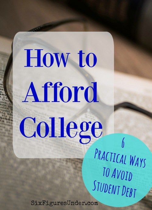 How can I afford for college that I really want to go to?