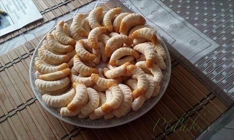 Obrázek z Recept - Šlehačkové rohlíčky od Helenky