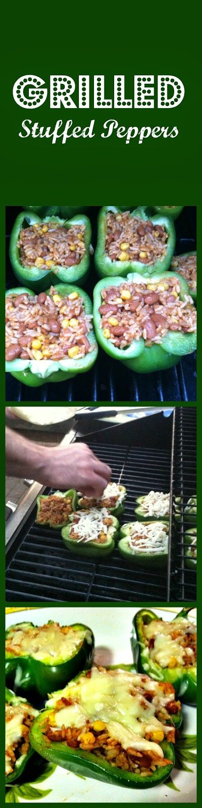 twingle mommmy: Grilled Stuffed Peppers