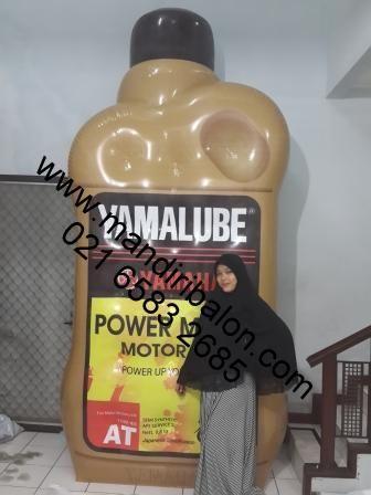 Balon Botol Oli Yamalube http://mandiribalon.com/balon-botol/