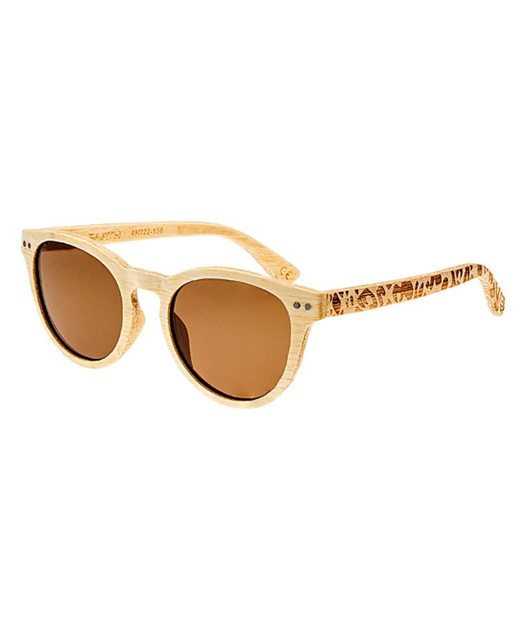 Another great find on #zulily! Bamboo Copacabana Wood Sunglasses by EARTH wood watches #zulilyfinds