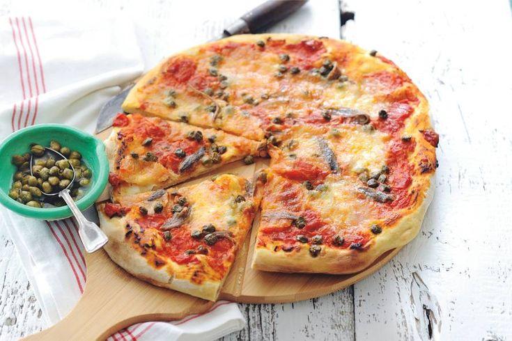 Kijk wat een lekker recept ik heb gevonden op Allerhande! Pizza alla napoletana