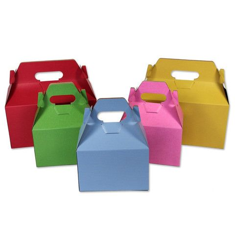 Gable Boxes Coloured Pinstripe - 100% Recyclable – B2BWraps.com