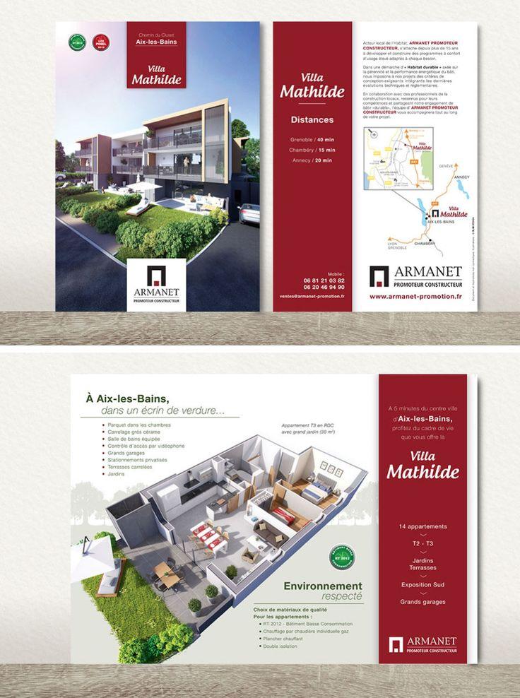 Assez 16 best Plaquettes - Promotion immobiliere images on Pinterest  HT14
