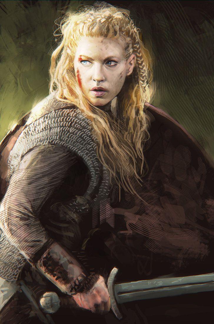 Herja viking woman