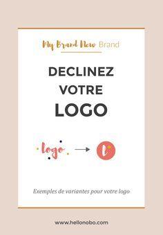 Après avoir créé votre logo principal, vous pouvez en faire une ou deux variantes simplifiées. Ainsi, vous pourrez les utiliser sur d'autres supports. Par exemple, une créatrice de bijoux peut avoir un sigle gravé sur un médaillon qu'elle accroche sur chaque pièce ; un photographe peut mettre son logo simplifié dans un coin de son image, tel une signature. Vous pourrez également vous en servir sur les réseaux sociaux, ou comme favicon. Voici quelques exemples de déclinaison de logo : ...