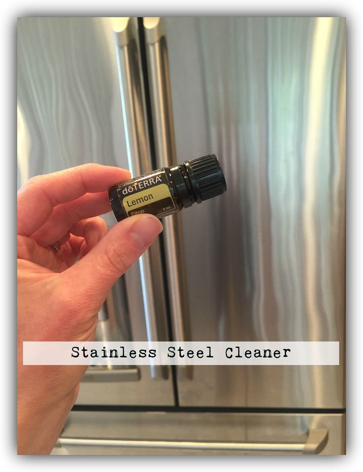 Here is an all-natural stainless steel cleaner for all your appliances to help remove dirt and fingerprints.