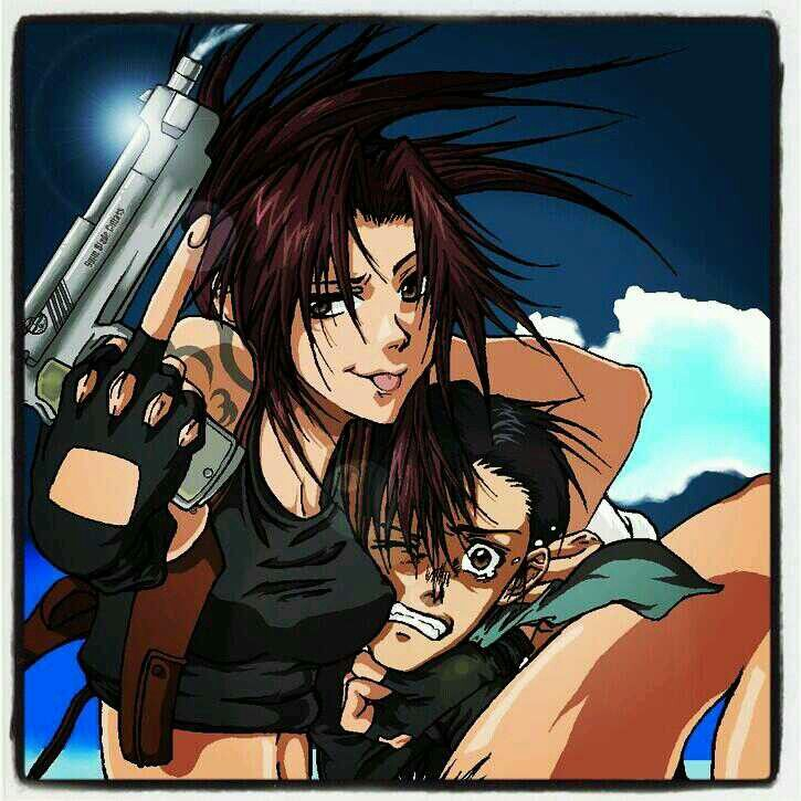 Revy & Rock from Black Lagoon