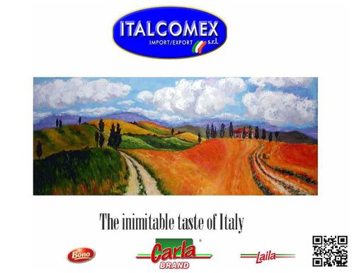 """The Italcomex  is located in the centre of the production area of the worldwide renowned tomatoes,  in the small and beautiful city of Nocera Inferiore, between Salerno and Naples in the South of Italy. Here, a perfect harmony of the sun, of the field and the presence of the Vesuvio, the famous Vulcano, give birth to a spontaneous gift of the nature, the famous """"San Marzano Tomato"""", unique and inimitable: a mixture of quality and taste."""