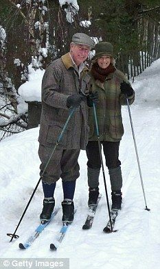 Charles and Camilla pose for their official Christmas card at Balmoral.