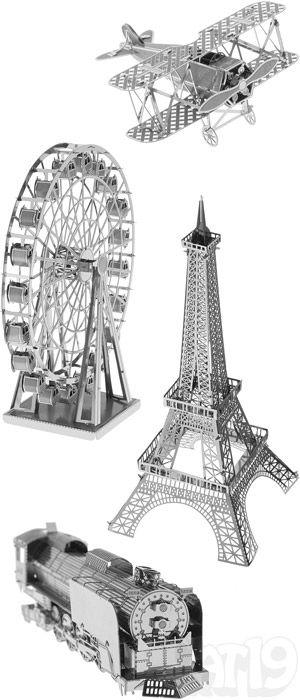 Metal Works DIY 3D Laser Cut Models - Black Pearl Ship