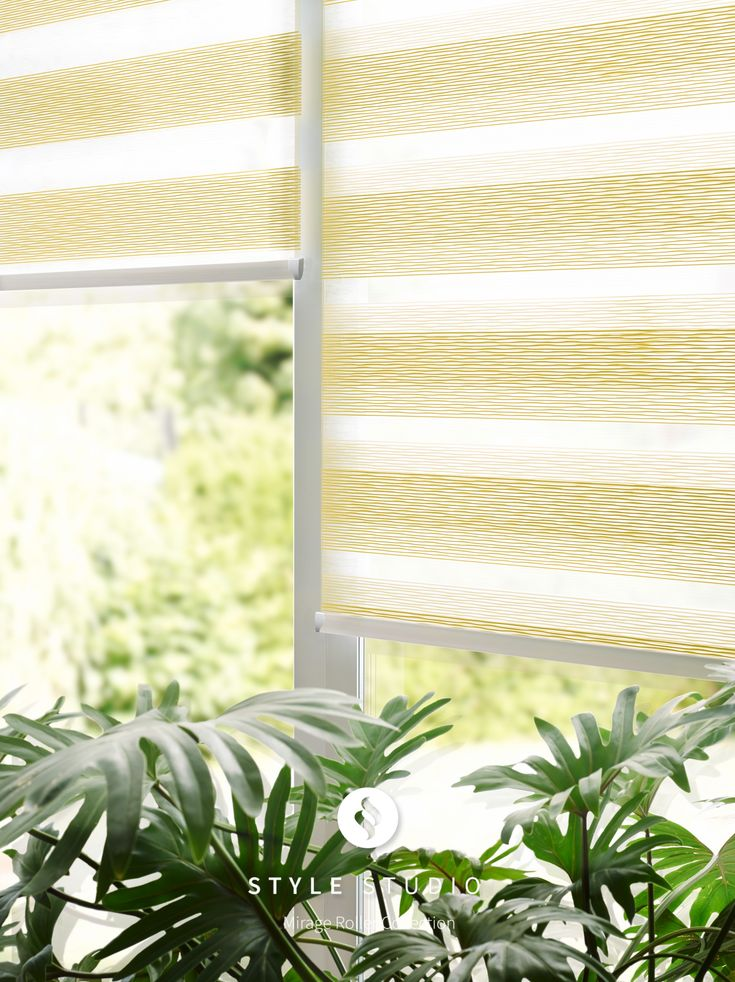 Aura Gold Style Studio Mirage Roller Blind