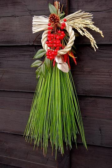 お正月 Tama Kazari ( Japanese New Years decoration)