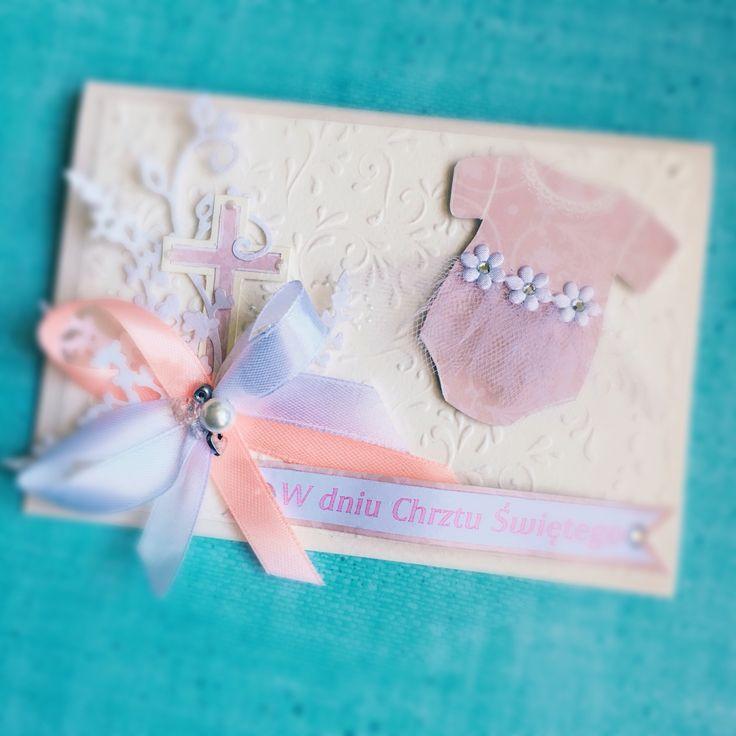 Kartka na chrzciny baptism card