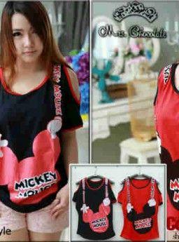 Kaos Seksi Mickey, Ready Stok, Untuk pemesanan dan informasi silahkan hubungi admin di SMS/WhatsApp: 085259804804
