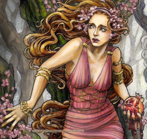 Taurus: Persephone, the goddess of Spring which is Taurus season. She also  represents
