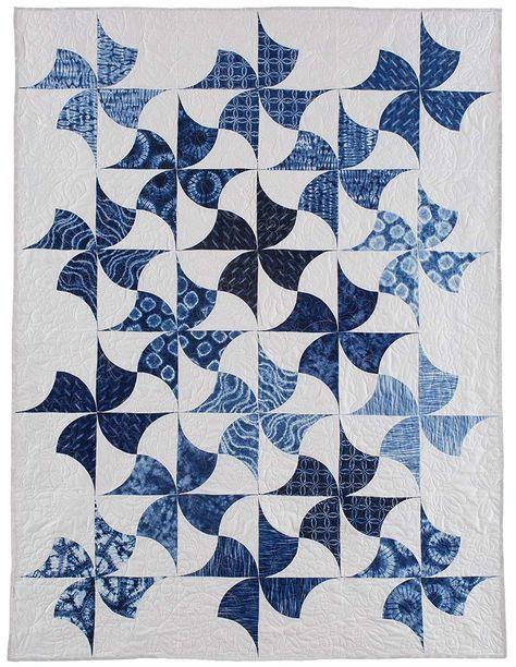 Indigo Spin Quilt Pattern