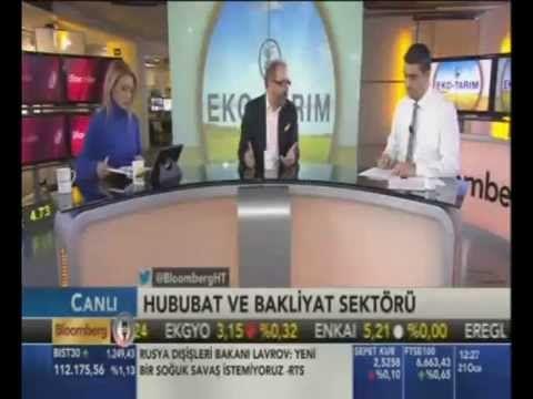 Yönetim Kurulu Başkanımız Mehmet Erdoğan, dün BloombergHT Eko-Tarım programında İrfan Donat ve Mine Uzunyol'un konuğu oldu.