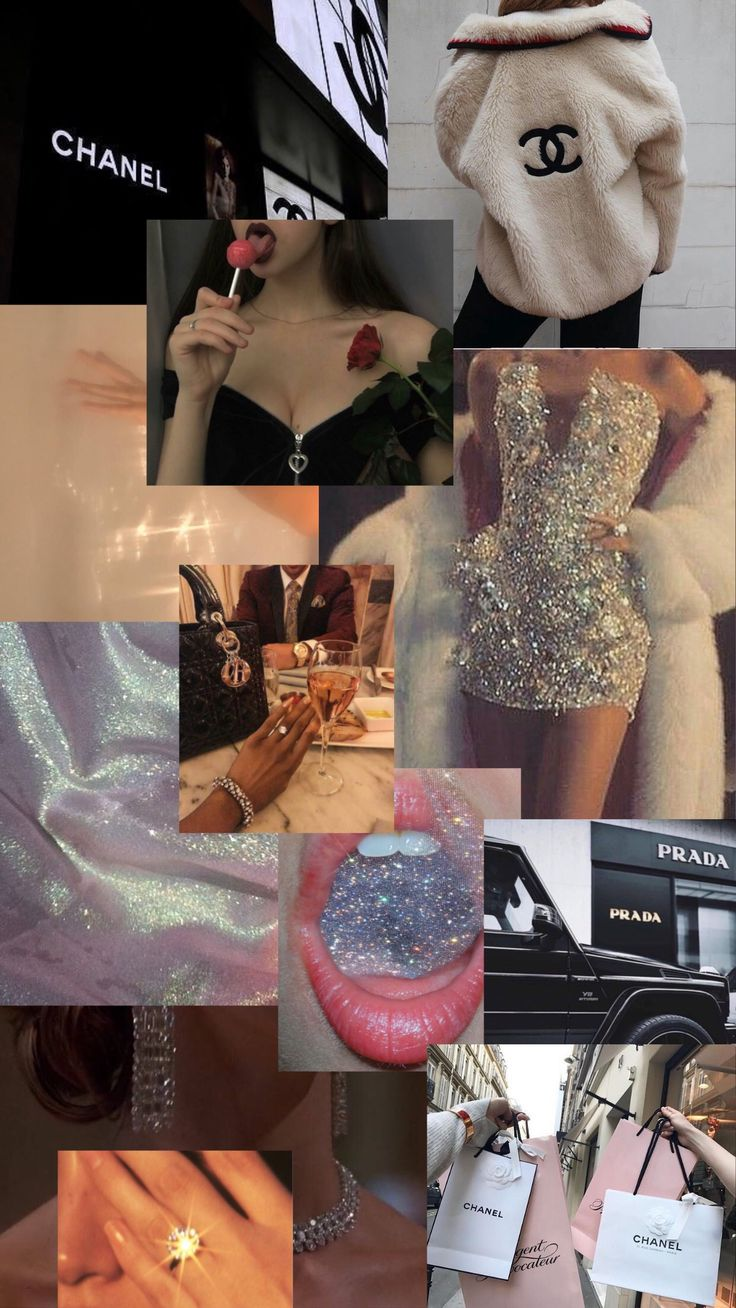 aesthetic rich chanel shopping lip dark gloss wallpapers lips lipgloss diamonds iphone matte smoke roses