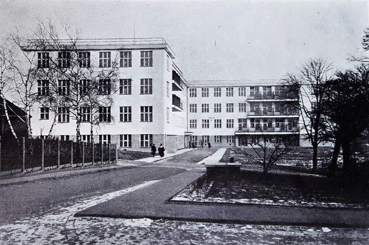 Královské Vinohrady State Hospital, New Surgical Pavilion, 1938. Source: Československá nemocnice (Czechoslovak Hospital Journal)