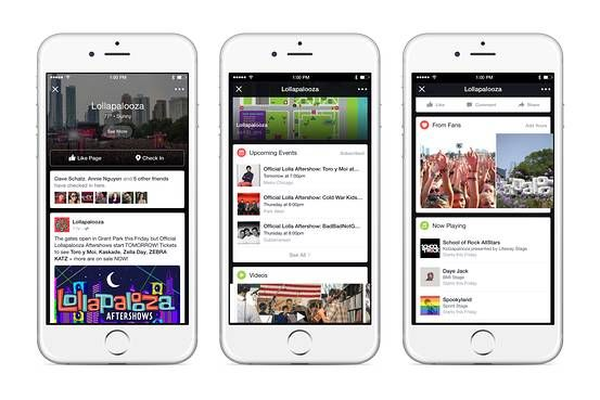 Facebook Debuts New Live Event Stream at Lollapalooza Paragon Monday Morning LinkFest