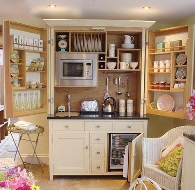 Breakfast cupboard