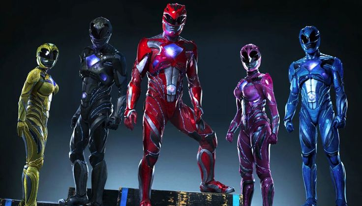M.A.A.C. – Lionsgate and Saban Teaming Up For A New POWER RANGERS Movie. UPDATE: First Look At New Suits