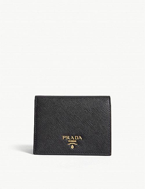 d8369e1be1fe PRADA Logo small Saffiano leather purse in 2019 | Wardrobe Goals ...