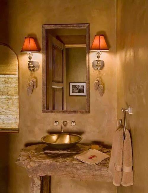 baños rustico