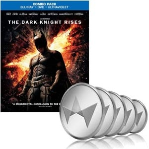 Movie: The Dark Knight Rises (Blu-ray/DVD Combo+UltraViolet Digital Copy) (2012) & 50 TCredits Auction