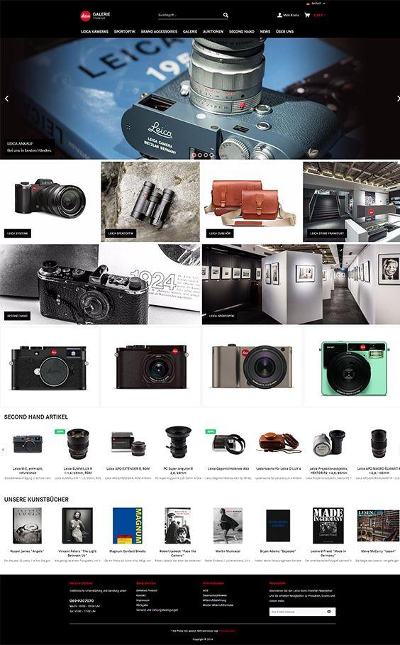 Shopware Design, Shopware Theme, Shopware Shop, eCommerce, eCommerce Software, eCommerce platform, Onlineshop, Cameras, Reflex camera, Leica Camera, Leica Systems, photography, professional photography