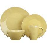 new dinnerware, bought both yellow and blue - Marin Yellow Dinnerware