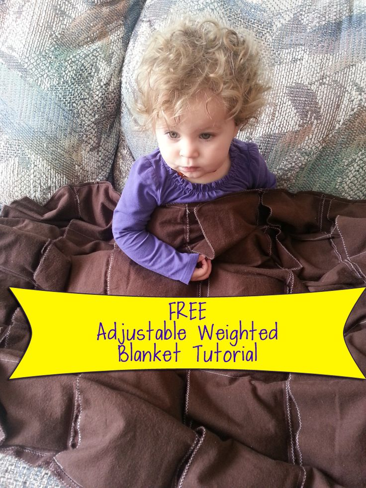 Free Adjustable Weighted Blanket Tutorial