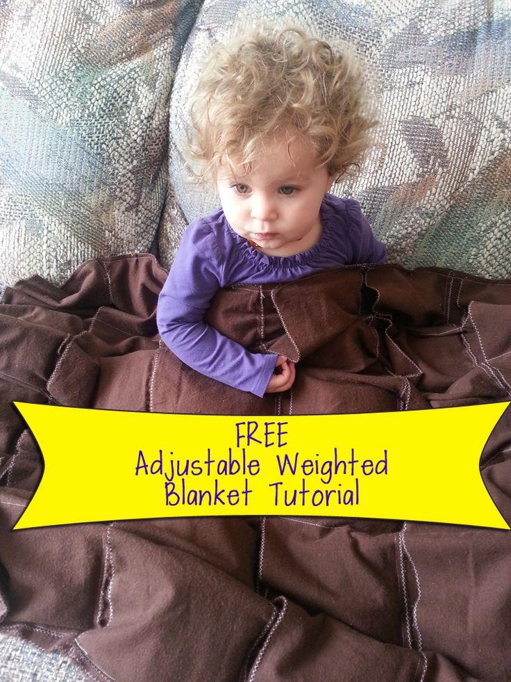 Free Adjustable Weighted Blanket Tutorial