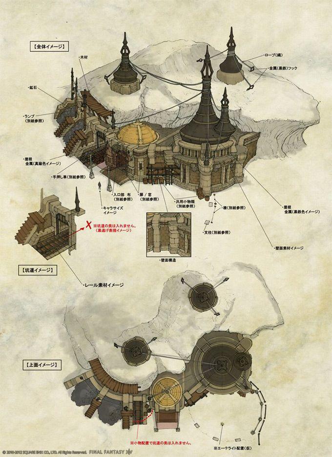Final Fantasy XIV Online Concept Art