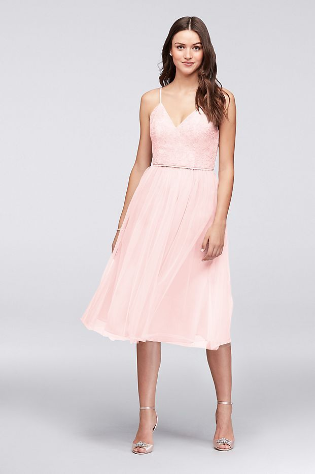 David's Bridal Short Bridesmaid Dresses