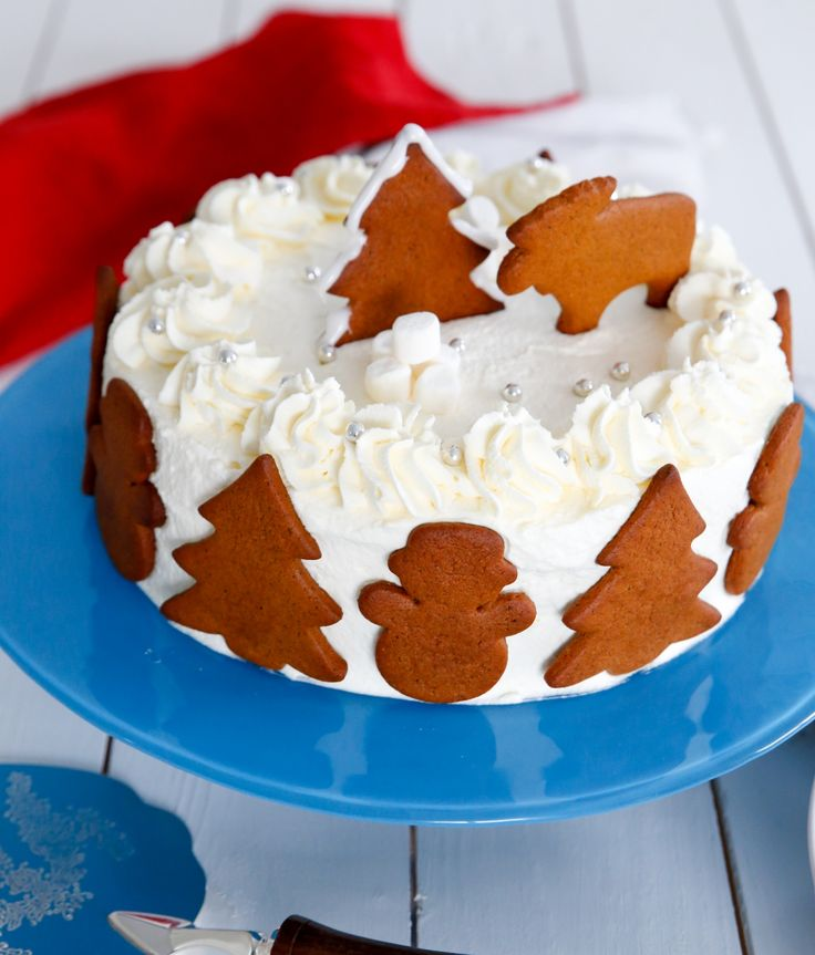 jultårta, tårta till jul